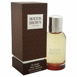 Re Charge Black Pepper by Molton Brown for Men 1.7 oz EDT Spray