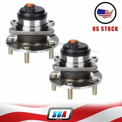 2 Pcs Fits Dodge Chrysler W/ Abs Left Or Right Rear Wheel Hub Bearing Assembly