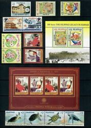Rp06 Philippines - 2006 Complete Year Stamp Sets With Souvenir Sheets. Muh