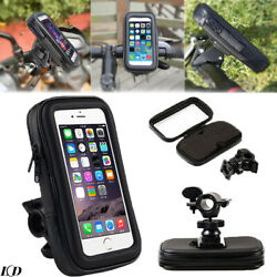 6.3quot; Bicycle Waterproof Bag Bike Front Frame Top Holder Touch Screen Phone Case $7.45