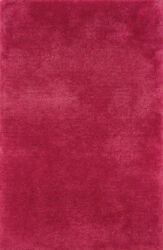 10x13 Sphinx Solid Shag Pink 81103 Colorful Area Rug - Approx 10and039 X 13and039