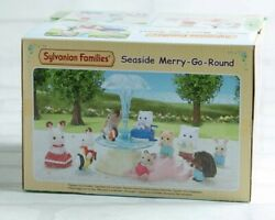 Sylvanian Families Calico Critters Seaside Merry Go Round Epoch New Boxed Girls