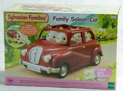 Sylvanian Families Calico Critters Saloon Car Red With Boxed Epoch Girls New F/s