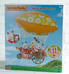 Sylvanian Families Calico Critters Sky Ride Hot Air Balloon With Box Epoch New