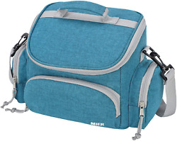 MIER Insulated Lunch Bag Tote for Kids Women Men Small Leakproof Soft Cooler 9 $13.28