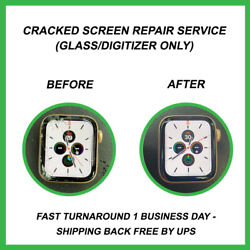 Apple Watch 4 - Cracked Glass Screen Repair Service For Apple Watch Series 4