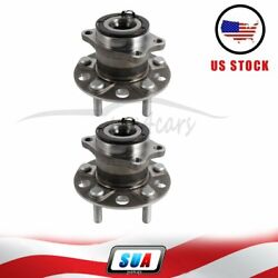 2 Rear Fits Dodge Avenger 2008 Wheel Hub And Bearing Assembly 5 Lugs W/abs New
