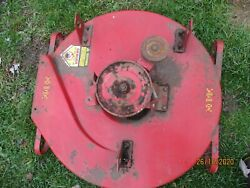 Used/working/oem Yazoo 30 Mower Deck Complete Assembly/all Hardware Spins Free