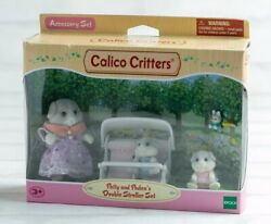 Sylvanian Families Calico Critters Patty And Paden's Double Stroller Epoch Girls
