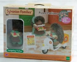 Sylvanian Families Calico Critters Pizza Delivery Set Epoch New Boxed Girls F/s