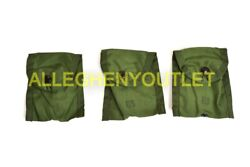 New Lot Of 3 Us Army Military Usgi Compass First Aid Case Pouch Od Green Lc-1
