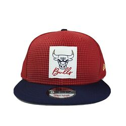 New Nba Chicago Bulls Life Champs19 Red Navy Snapback One Size Fits All