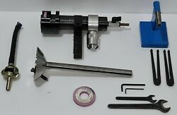 Chris-marine Ab Malmo 75h Valve Spindle Grinding Machine With Accessories