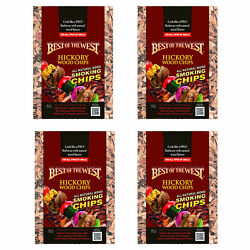 Best Of The West All Natural Bbq Hickory Wood Smoking Chips 4 Pack