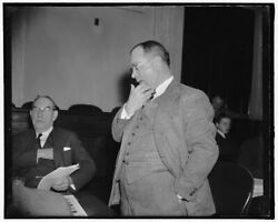 Reproduced 1937 Photo Princeton Professor Says Tax Program Would Cost More Th W