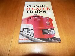 Collector's Guide To Classic O-gauge Trains Model Train Rail Modeling Book New