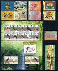 Rp08 Philippines - 2008 Complete Year Stamp Sets With Souvenir Sheets. Muh