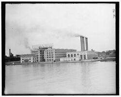 1905 Photo Of Morgan And Wright Rubber Works Detroit Mich R