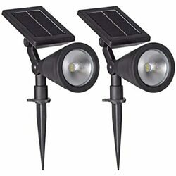 Sterno Home Gl40460 Outdoor Solar Led Black Light Kit, Ground Wall Mountable, -