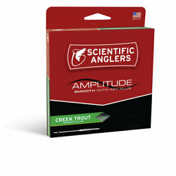 New Scientific Angler Amplitude Smooth Creek Trout Wf-5-f Floating Fly Line