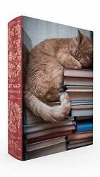 Cat Nap Book Box Puzzle By Smith Gibbs English Book And Toy Not Plush Book F