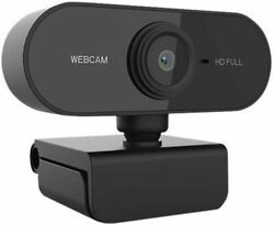 1080p Hd Usb Webcam Camera With Microphone For Pc Desktop And Laptop Web Us Stock