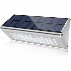 Securoad Super Bright Solar Lights Outdoor Water Proof 46 Led 1100 Lumens Metal