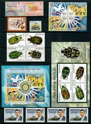 Rp10 Philippines - 2010 Complete Year Stamp Sets With Souvenir Sheets. Muh