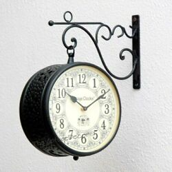 Vintage Iron Clock Station Key Watch Watchman Simplex For Thanksgiving Day