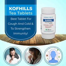 Kofhills 30 Tablets Natural Remedy To Cure Cough Supports Immunity Herbal Hills