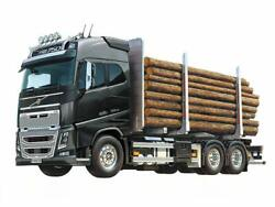 Tamiya 1/14 Rc Volvo Fh16 6x4 Timber Truck Globetrotter 750 Tractor Kit 56360
