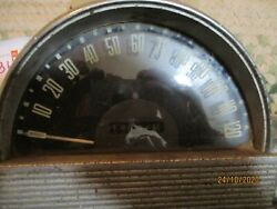 Used/works 1953 Hudson Speedometer W/lo Miles Will Need Gone Thru And Cleaned Up