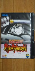 Samurai Shodown 3 Neogeo Japan Excellent Boxed Manual Tested Working Dhl F/s
