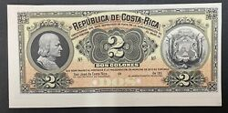 Costa Rica Banknote Proof Front P144p