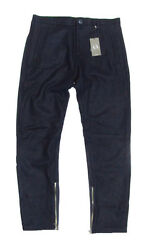 Armani Exchange A/x Mens Wool Solid Navy Casual Dress Pants New Size 28 31