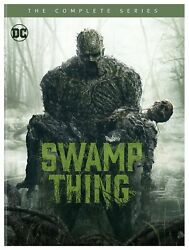 Swamp Thing The Complete Series Dvd Crystal Reed Nr Action And Adventure Drama New