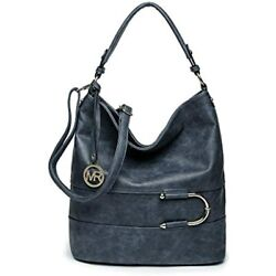 Fashion Hobo Bags For Women Large Capacity Shoulder Faux Leather Cross body And $31.95