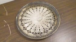 Vintage Apollo Epns Bernard Rices Sons Inc Silver Plate Footed Plate