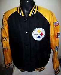 Pittsburgh Steelers 6 Time Super Bowl Champions Polyester Jacket  2020