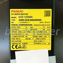 1pc Used Brand Fanuc Model A06b-0238-b605s000 Tested In Good Condition