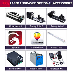 Chiller Laser Tube Rotary Axis Power Autofocus - Co2 Laser Engraver Accessories