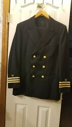 Us Navy Supply Corps Commander Officers Military Service Dress Uniform Ml 42/25