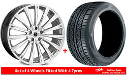 Alloy Wheels And Tyres 22 Hawke Chayton For Bentley Flying Spur [mk1] 05-13
