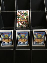 2020 Mars Attacks Wacky Packages Series 4 Crudlow + Coupon + Base Sets= 61 Cards