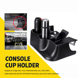 Center Console Cup Holder +washers For Dodge Ram Add-on 1500 2500 3500 2003-2012