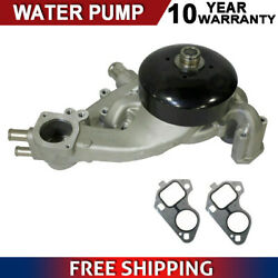 Water Pump For 07-09 Chevrolet Gmc Hummer Saab Buick 4.8l 5.3l 6.0l Ohv Aw6009