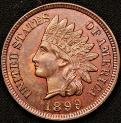 1899 Indian Head Pennyms +++++
