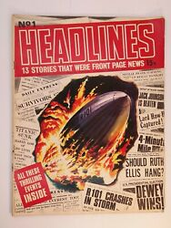 Issues 1-86 Vintage Headlines News Magazine Collection Inc The 8o81missprint