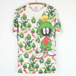 Vintage 1993 Marvin The Martian All Over Print Shirt