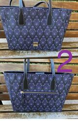 Disney Dooney And Bourke The Haunted Mansion Wallpaper Tote Bag Purse